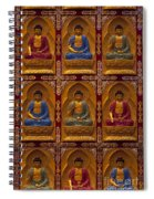 Vietnamese Temple Spiral Notebook