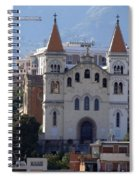 Views Of Messina Italy Spiral Notebook