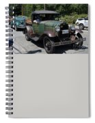 Vintage Cars Spiral Notebook