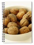 Walnuts Spiral Notebook