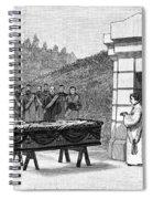 William Henry Vanderbilt (1821-1885) Spiral Notebook