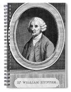 William Hunter (17178-1783) Spiral Notebook
