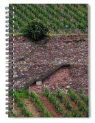 Wine Of Rhine Spiral Notebook