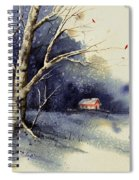 Winter Tree Spiral Notebook