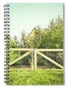 Wooden Gate Spiral Notebook