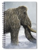 Woolly Mammoth Spiral Notebook
