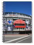 Wrigley Field - Chicago Cubs Spiral Notebook