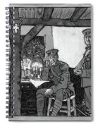 Wwi Soldiers, 1918 Spiral Notebook