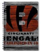 Cincinnati Bengals Spiral Notebook