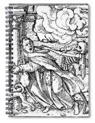 Dance Of Death, 1538 Spiral Notebook