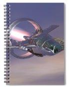 30 Mm Gunfighter Spiral Notebook