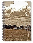30 Percent Chance Of Rain Spiral Notebook