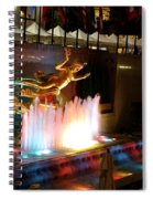 30 Rock Fountain Spiral Notebook