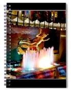 30 Rock Statue Spiral Notebook