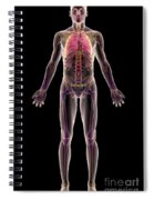 The Respiratory System Spiral Notebook