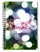 Abstract Background Spiral Notebook