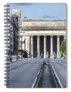 30th Street Station From Jfk Blvd Spiral Notebook