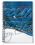 Carolina Panthers Spiral Notebook
