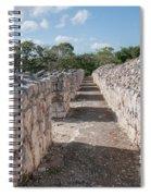 Edzna In Campeche Spiral Notebook