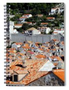 Views Of Dubrovnik Croatia Spiral Notebook