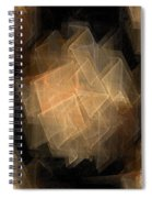 Seamless Background Fractal Spiral Notebook