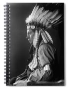 Sioux Native American, C1900 Spiral Notebook