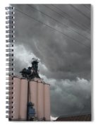 Nebraska Panhandle Supercells Spiral Notebook