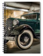 '33 Plymouth Spiral Notebook