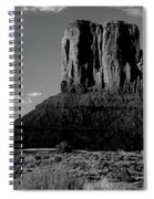 Rock Formations On A Landscape Spiral Notebook