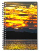 333 Marine Sunrise Spiral Notebook