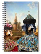 Dachshund Art Canvas Print Spiral Notebook