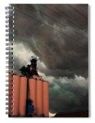 Nebraska Panhandle Supercells Spiral Notebook