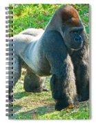 Western Lowland Gorilla Spiral Notebook