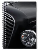 36 Black Spiral Notebook