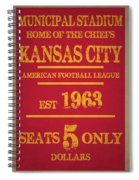 Kansas City Chiefs Spiral Notebook