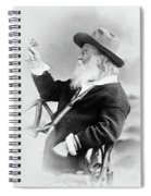 Walt Whitman (1819-1892) Spiral Notebook