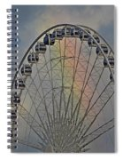 360 Rainbow  Spiral Notebook