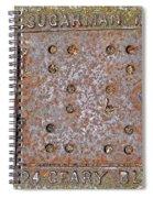 3624 Geary Blvd. San Fran Spiral Notebook