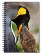 King Penguin Spiral Notebook