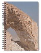 White Desert Spiral Notebook
