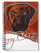 Cleveland Browns Spiral Notebook