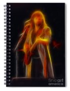 38 Special-94-don-ge17a-fractal Spiral Notebook