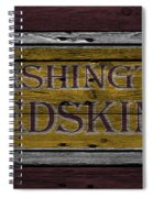 Washington Redskins Spiral Notebook