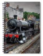 3802 At Llangollen Station Spiral Notebook