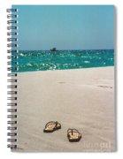 #384 33a Sandals On The Beach - Destin Florida Spiral Notebook