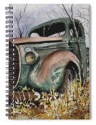 39 Ford Truck Spiral Notebook