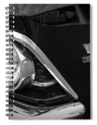 396 Turbo Jet Spiral Notebook
