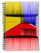 3d Abstract 1 Spiral Notebook
