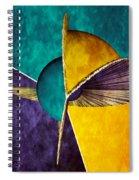 3d Abstract 22 Spiral Notebook