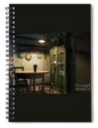 3d Dining Table Room Spiral Notebook